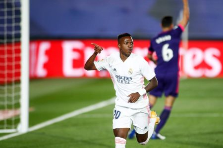 Vinicius Jr scored the winner as Real Madrid beat out-of-form Real Valladolid 1-0 and climb third in LaLiga table.