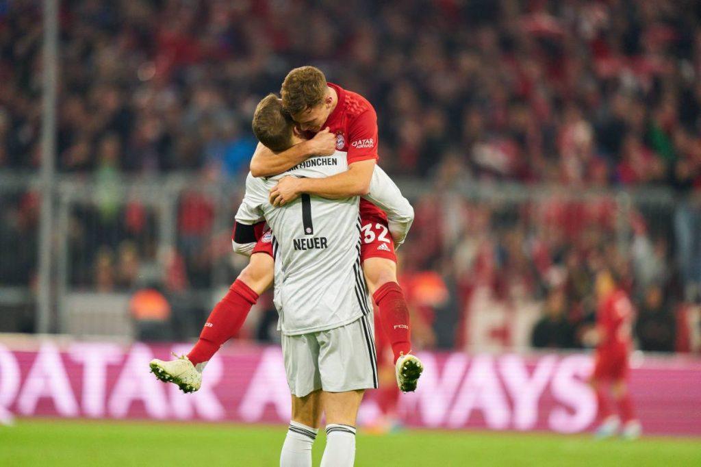 Kimmich, Neuer, Bayern