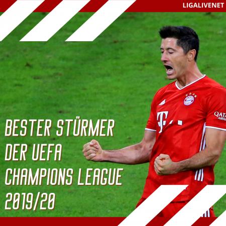 Lewandowski UEFA Spieler des Jahres