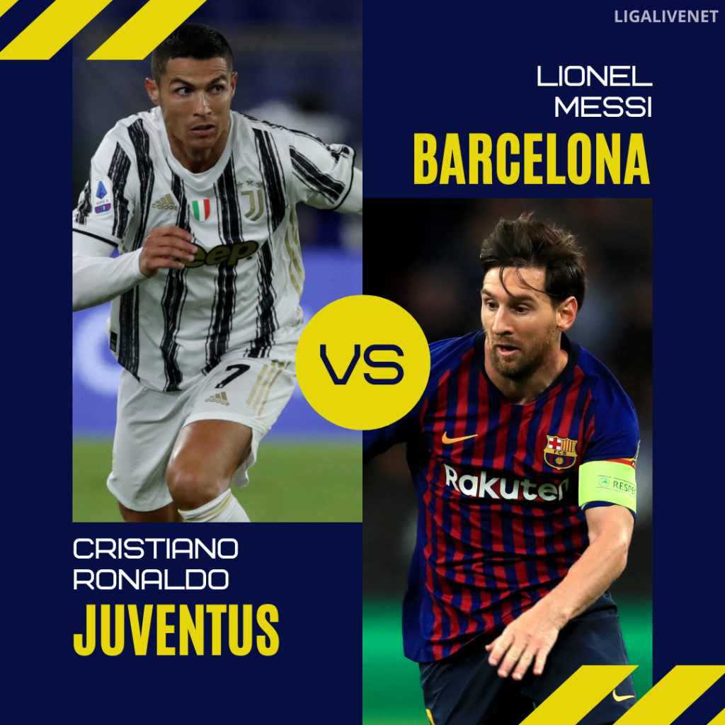 Messi vs Ronaldo UEFA