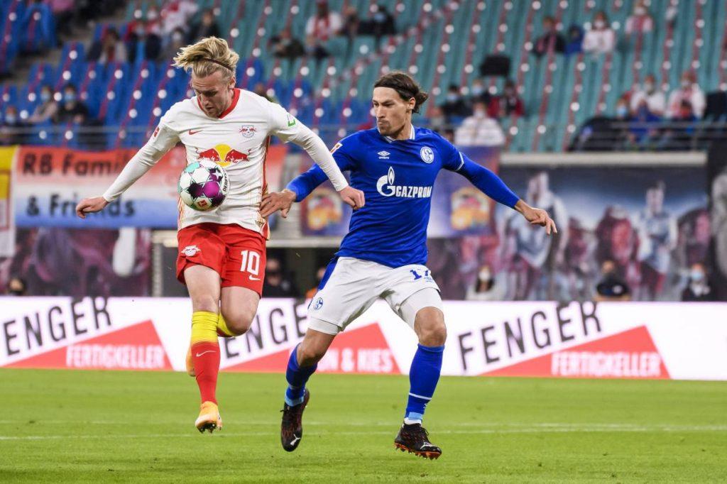Fußball Bundesliga, RB Leipzig, FC Schalke 04)