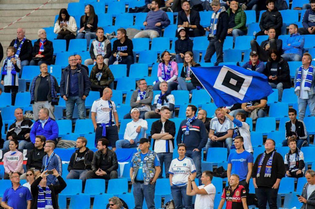 2. Bundesliga, Spiel, Hamburger SV, Erzgebirge Aue, fällt aus, HSV, Hamburger Volksparkstadion, absage