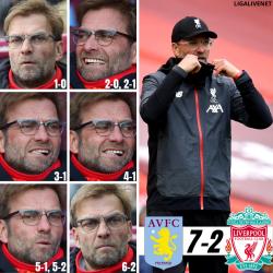 Klopp: Reaktionen auf 2:7 gegen Aston Villa