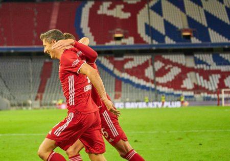 Robert Lewandowski FC Bayern Hertha BSC 4:3