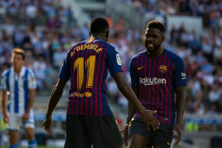 Barcelona furious with two stars
