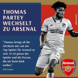 Thomas Partey Arsenal Wechsel