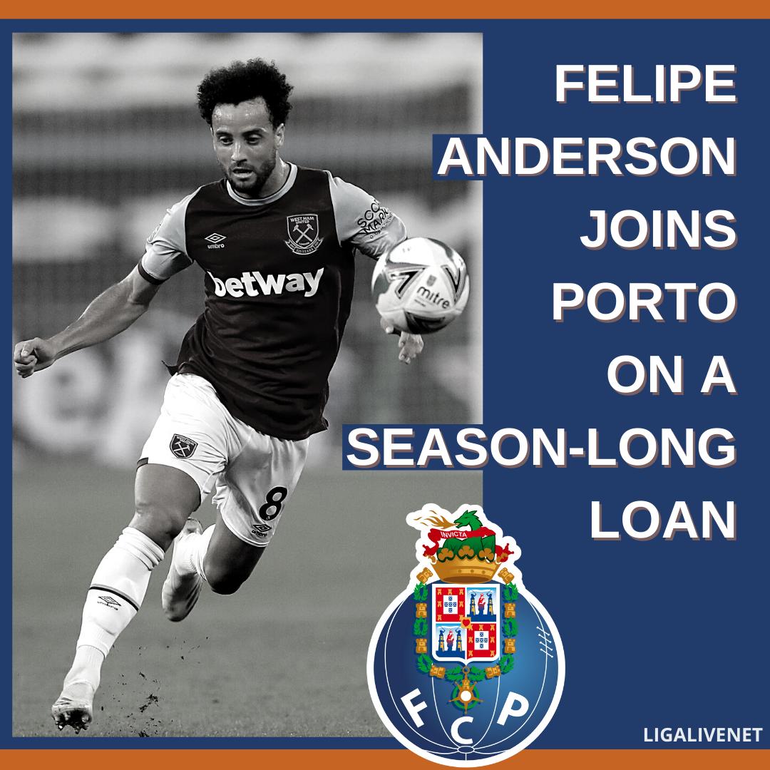 Felipe Anderson joins Porto