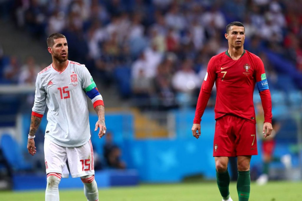 why Cristiano Ronaldo is angry with Sergio Ramos