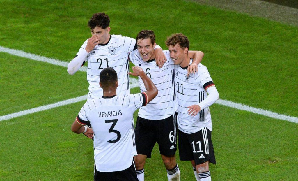 Florian Neuhaus, deutsche Nationalmannschaft Deutschland, Türkei