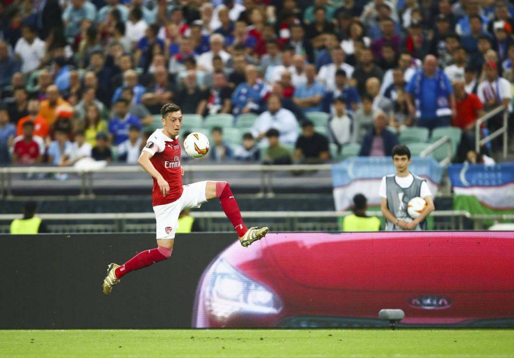 Mesut Özil Europa League Finale 2019