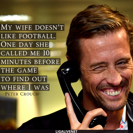 Peter Crouch Quote