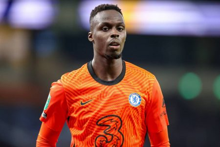 Chelsea's new goalie kept debut Premier League clean sheet against Crystal Palace