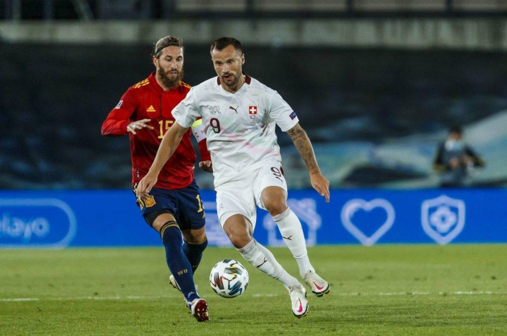 UEFA Nations League, Spanien, Fußball, Nationalmannschaft, Schweiz, Sergio Ramos, Haris Seferovic