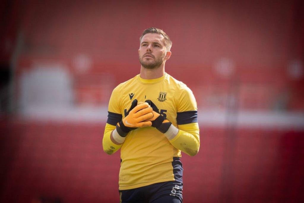 Jack Butland may replace injured Alisson at Liverpool