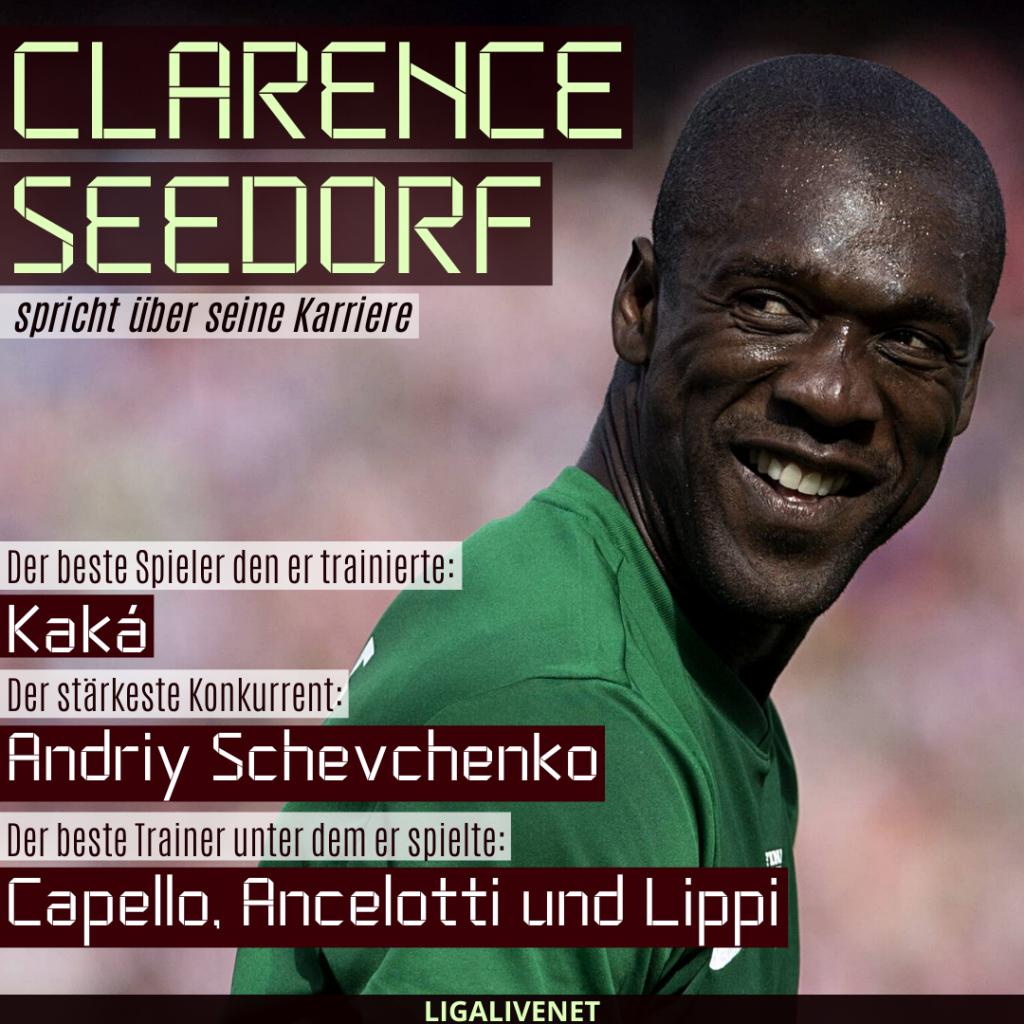 Clarence Seedorf spricht über seine Karriere