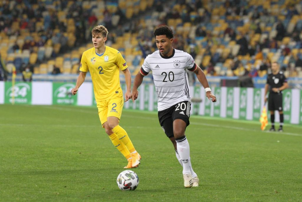 UEFA Nations League, deutsche Fußball-Nationalmannschaft, Ukraine, Serge Gnabry