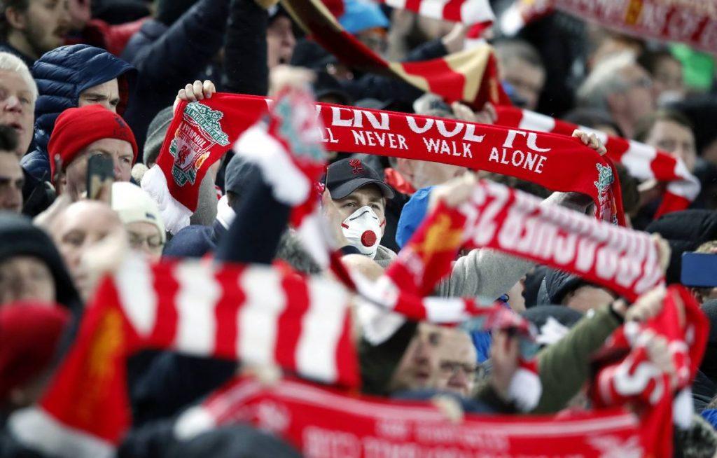 Liverpool, Fans, Schale, Logo, Premier League