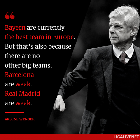 Aesene Wenger about Bayern