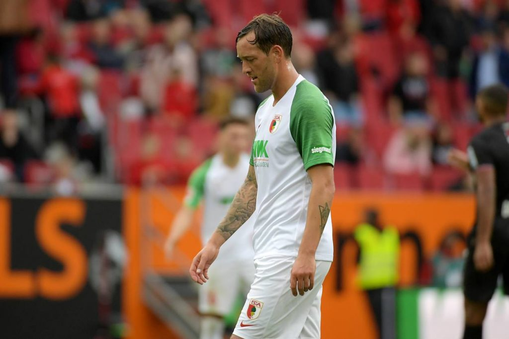 Julian Schieber FC Augsburg