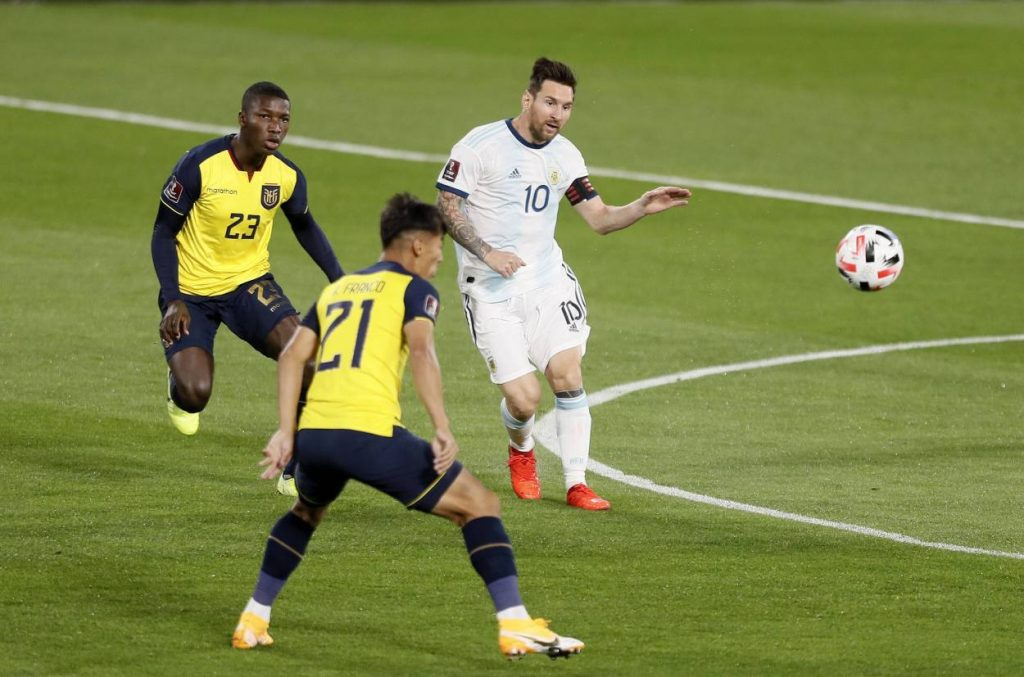 Messi, Argentinien, Bolivien