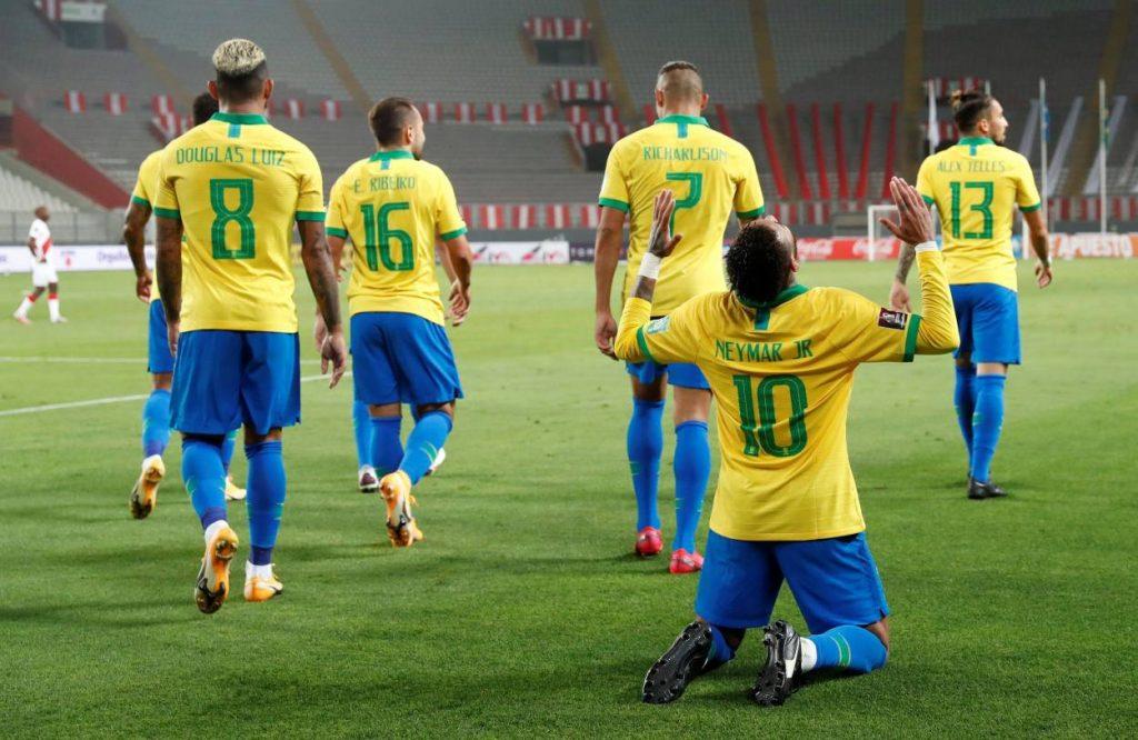 Neymar Peru Brasilien WM-Qualifikation