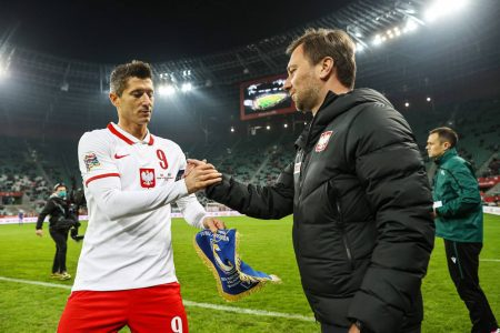 Robert Lewandowski Polen - Bosnien-Herzegowina Nations League