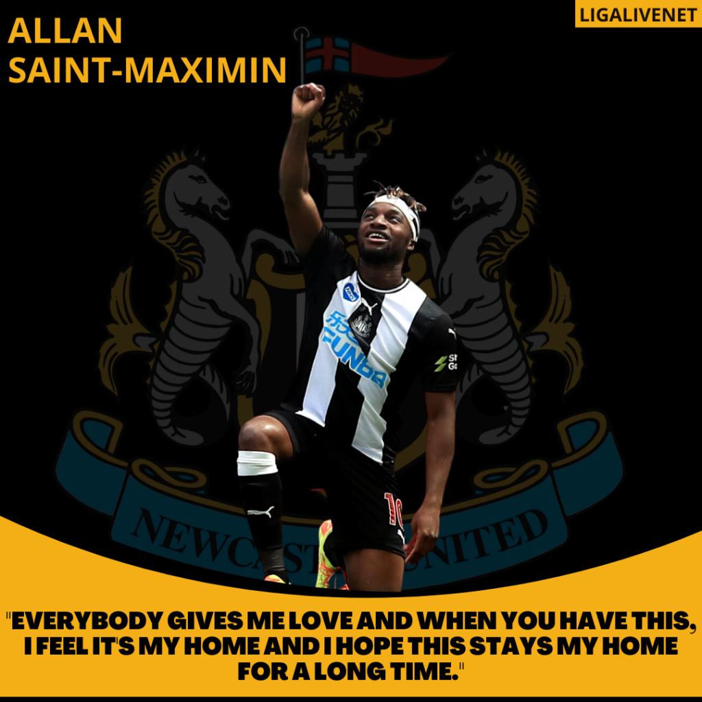 Allan Saint-Maximin Newcastle