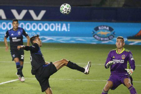 Jonathan Klinsmann made his debut appearance for LA Galaxy as the goalie conceded 4 goals against San Jose Earthquakes.