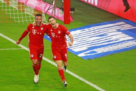 Lewandowski, Tolisso, Bayern