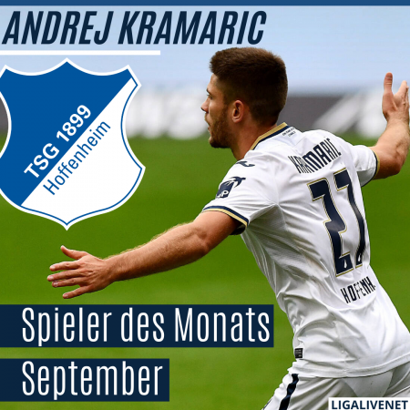 Kramaric-Spieler des Monats September