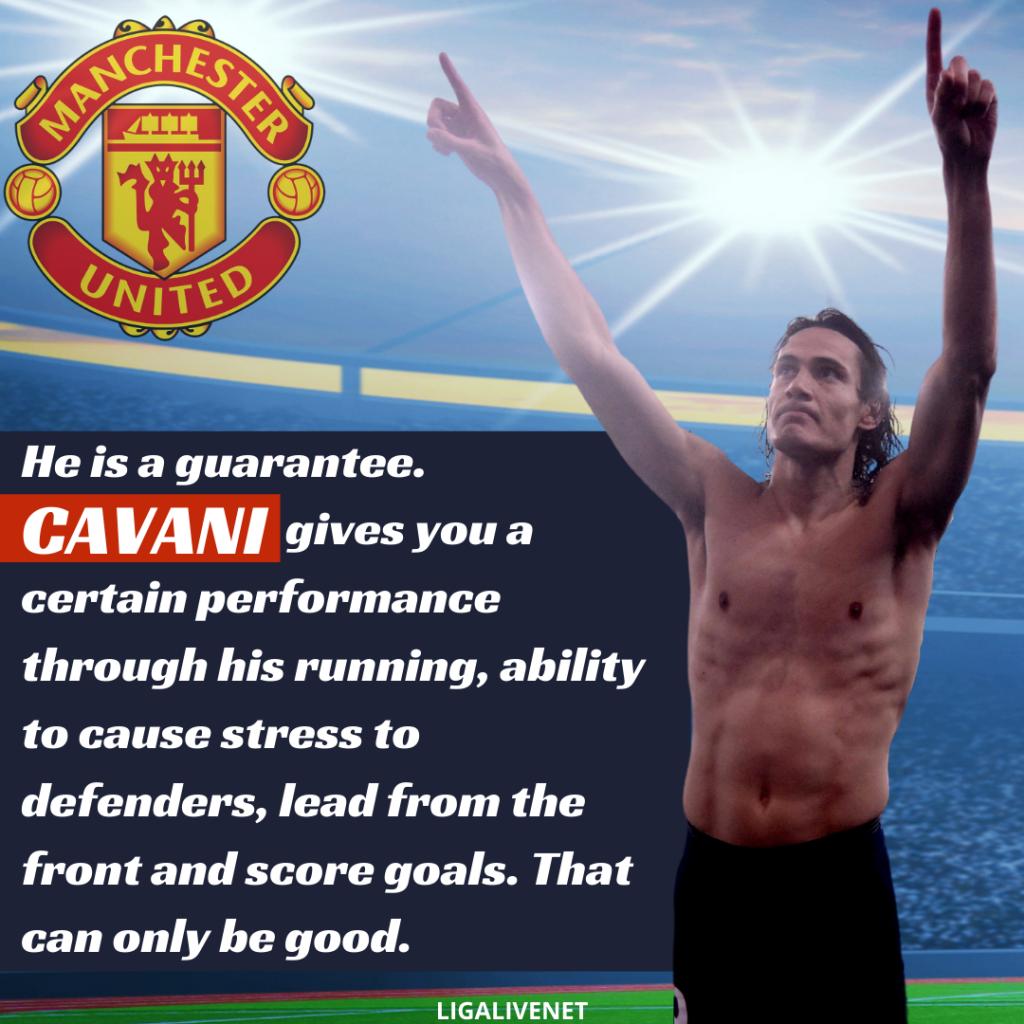 Cavani ManU transfer