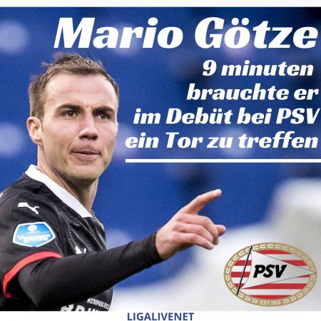 Mario Götze PSV Eindhoven