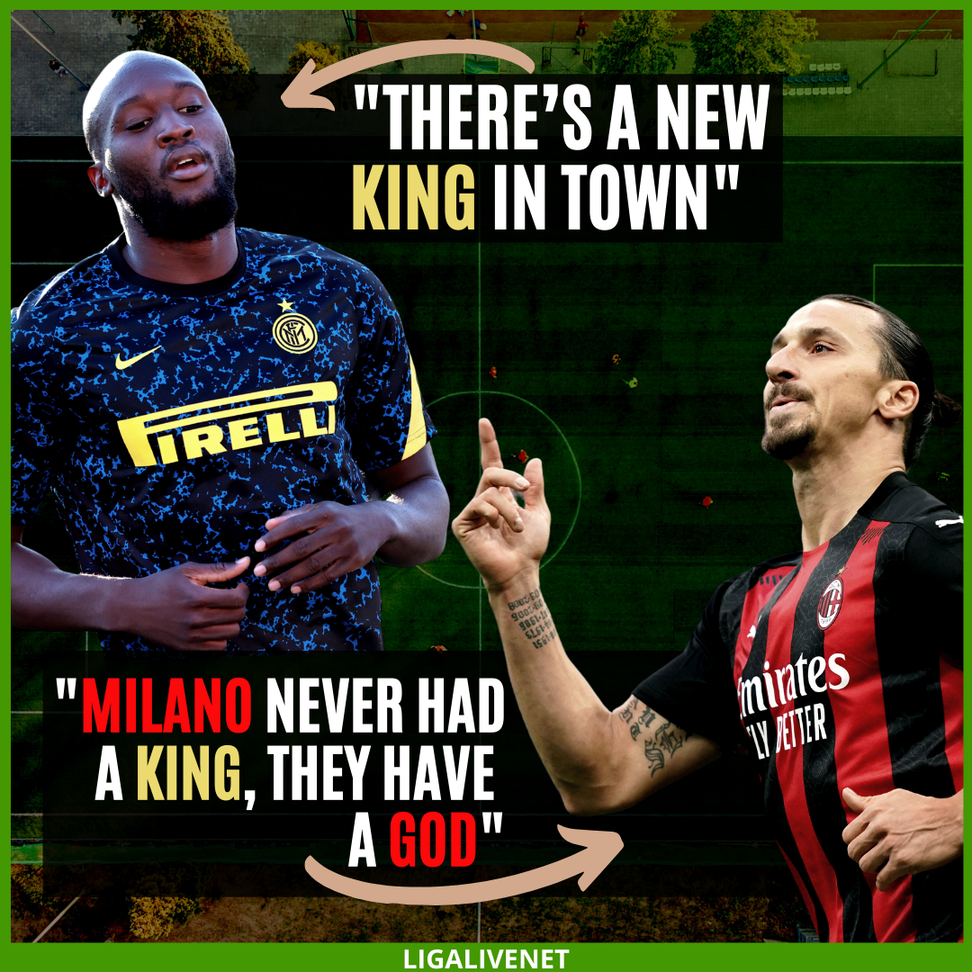 Ibra's response after the Milan derby
