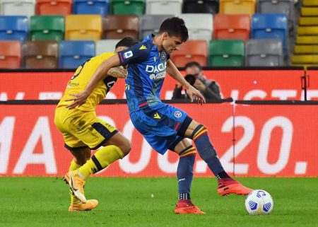 Ignacio Pussetto scored late winner as Udinese recorded their first win of the season and climb above the relegation zone.