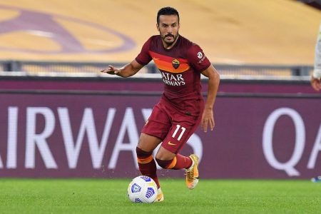 Edin Dzeko and Pedro Rodriguez scored as AS Roma hammered Benevento by 5-2 and climb seventh in Serie A standings.