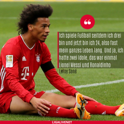Leroy Sané Bayern Kids interview