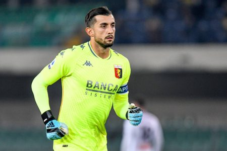 Perin made some excellent saves as Genoa managed a 0-0 draw against Hellas Verona as the club returned to action.