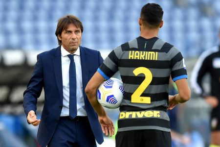Antonio Conte opens up about Achraf Hakimi after the Moroccan full-back was tested positive with Coronavirus.