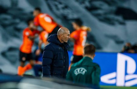 Zinedine Zidane takes the full responsibility after his side lost to Corona-hit Shakhtar Donetsk in UEFA Champions League.