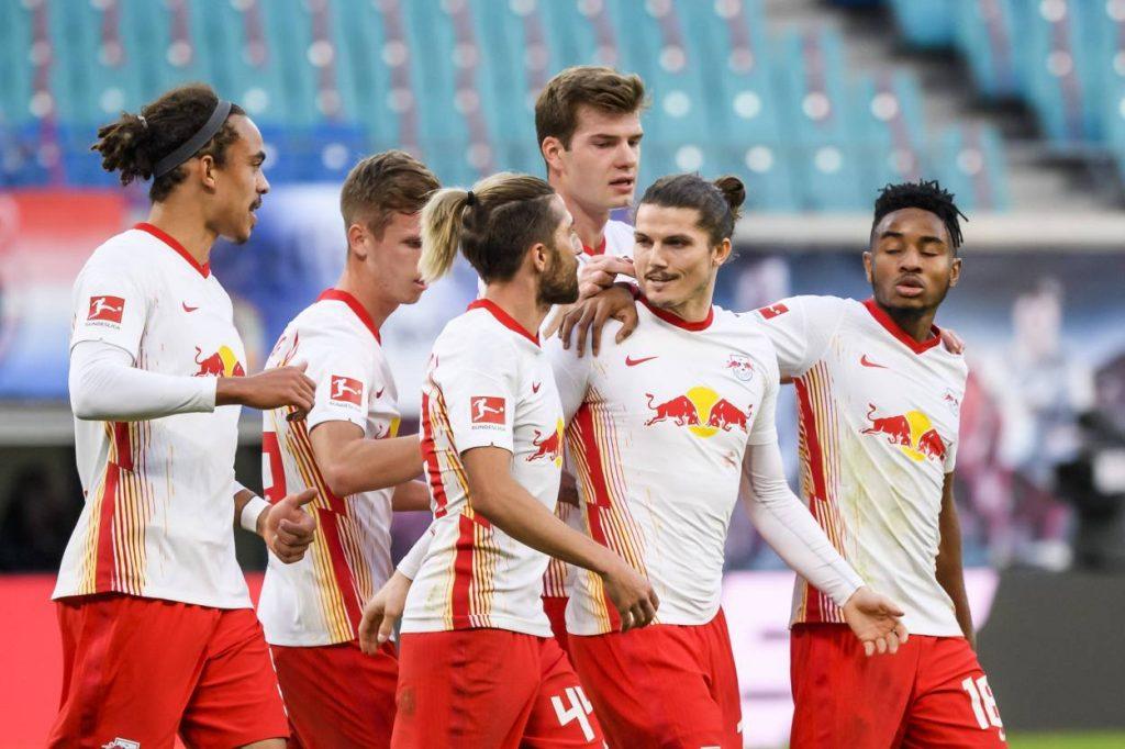Fußball Bundesliga, 5. Spieltag, RB Leipzig, Hertha BSC