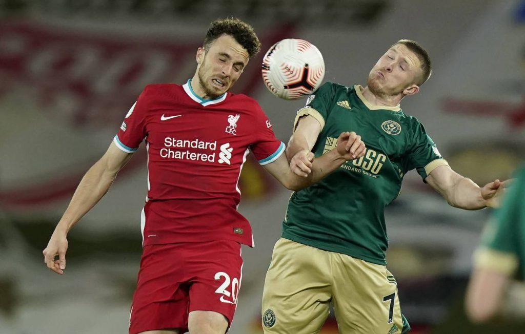Premier League, Liverpool, Diogo Jota, Sheffield