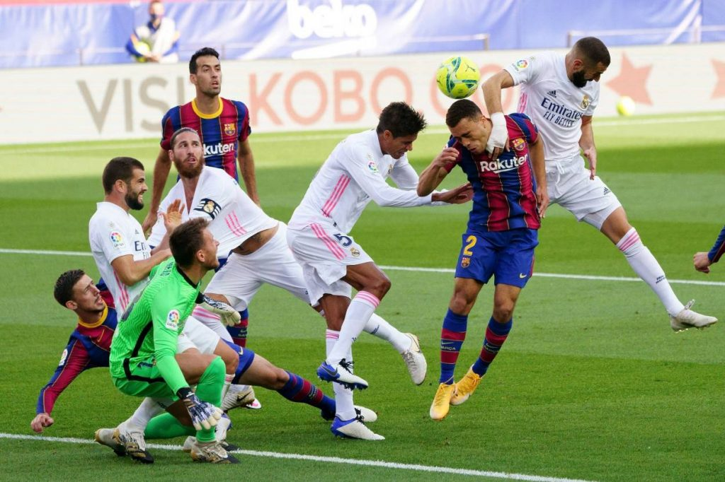 Barcelona dropped down to 12th place after El Clasico loss