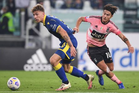 In the absence of Cristiano Ronaldo, Juventus once agins dropped points as Hellas Verona held the champions for a 1-1 draw.