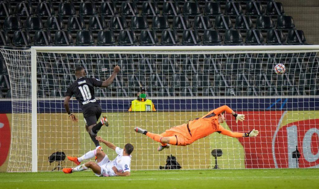 Marcus Thuram Gladbach Real Madrid 2:2