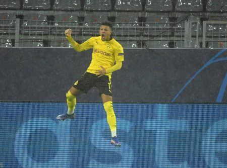 Jadon Sancho Borussia Dortmund Zenit St. Petersburg 2:0