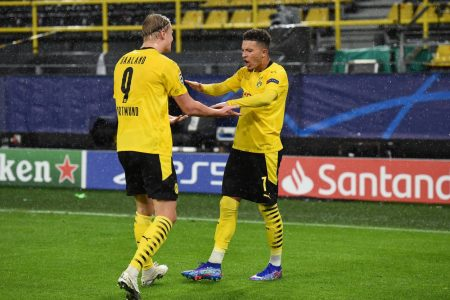 Jadon Sancho and Erling scored late as Borussia Dortmund registered their first win of UCL campaign with a 2-0 win over Zenit.