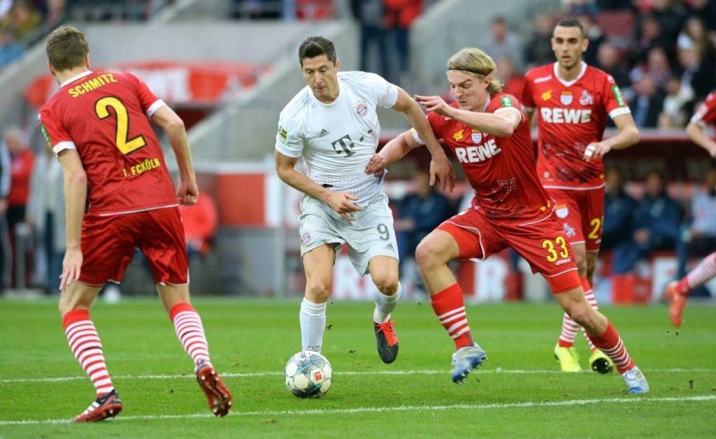 Lewandowski, Bayern, Köln