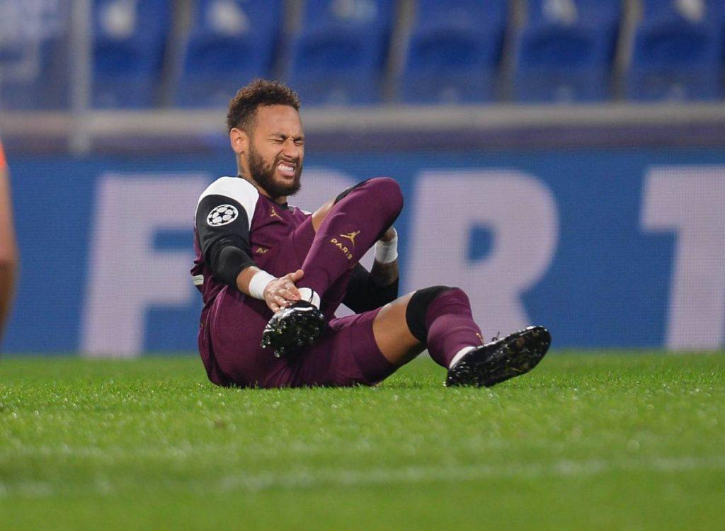 PSG confirm extent of Neymar injury