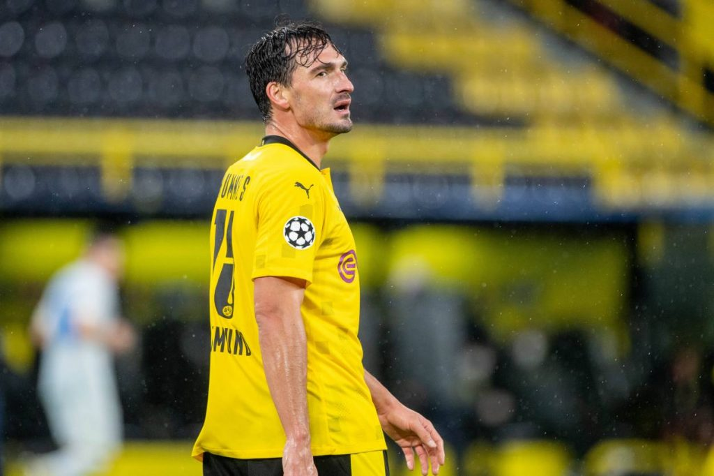 Mats Hummels Borussia Dortmund Zenit St. Petersburg