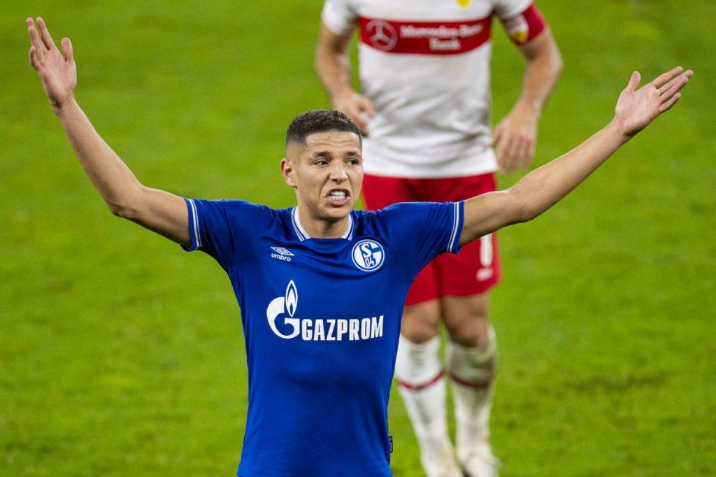 Amine Harit FC Schalke 04 VfB Stuttgart 1:1